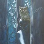 Night – Oil on Canvas – 2′ x 3′