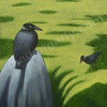 the Crows-1 – Oil on Canvas – 2′ x 3′